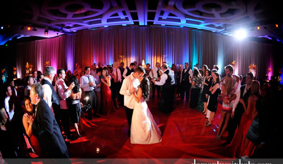 Atomic Wedding DJ Bride and Groom First Dance Ritz-Carlton in Orlando